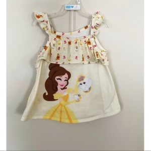 Disney Princess Belle Beauty and the Beast 5/6 pjs